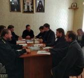 В епархиальном управлении Ардатовской епархии прошло расширенное совещание по вопросу предстоящего празднования 1030-летия со дня крещения Руси