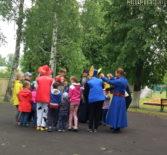 Международный День защиты детей торжественно отметили в центральном парке г.Ардатова