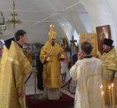 В день памяти равноапостольного великого князя Владимира, Архипастырь совершил праздничную Божественную Литургию в Никольском кафедральном соборег.Ардатова