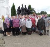 Киржеманские паломники посетили Свято-Троицкий Серафимо-Дивеевский женский монастырь