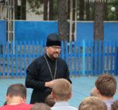 Архипастырь посетил ардатовский оздоровительный детский лагерь «Орленок»