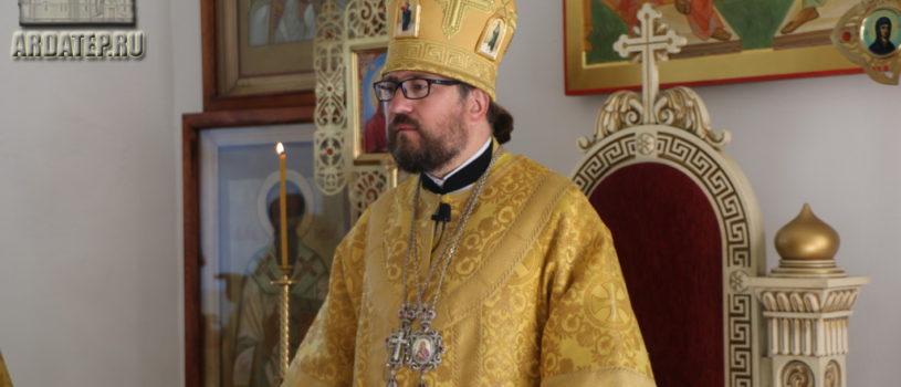 В день памяти первоверховных апостолов Петра и Павла Архипастырь совершил Божественную литургию в Никольском кафедральном соборе г.Ардатова