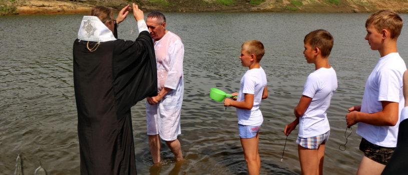 Ардатовская епархия начала отмечать юбилейную дату — 1030 лет Крещения Руси. Соборное богослужение и массовое Крещение в реке Алатырь