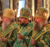 Начало торжествам, посвященным празднованию дня памяти преподобного Серафима Саровского в Свято-Троицком Серафимо-Дивеевском женском монастыре