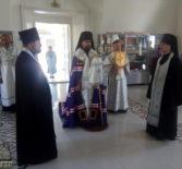 Всенощное бдение в Никольском кафедральном соборе г.Ардатова в праздник Преображения Господня