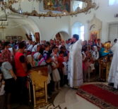 В Никольском кафедральном соборе г.Ардатова прошел молебен перед началом нового учебного года