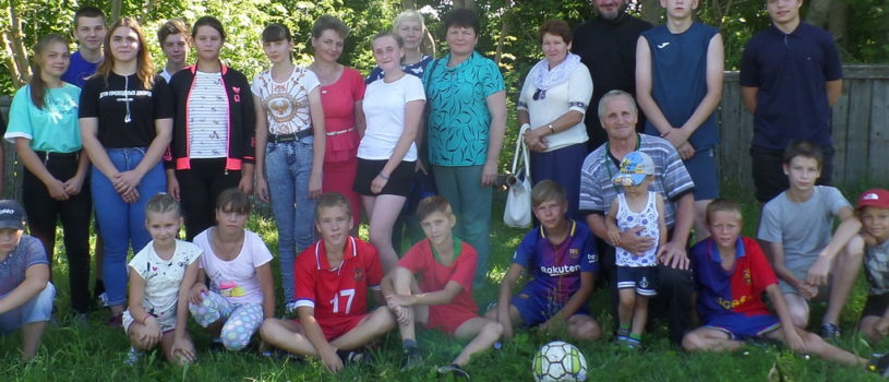 В с.Кечушево Ардатовского района состоялся очередной дружеский футбольный матч среди команд учащихся воскресных школ, посвященный юбилейной дате «1030-летия Крещения Руси»