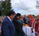 Архипастырь посетил праздничные торжества, приуроченные ко Дню Атяшевского района