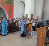 В Благовещенском приходе п.Комсомольский Чамзинского благочиния прошел молебен перед началом нового учебного года