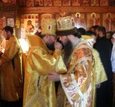 Преосвященный епископАрдатовский и Атяшевский Вениамин посетил Кузнецкую епархию, где принял участие в богослужении по древнерусскому чину
