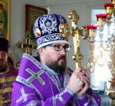 Происхождение (изнесение) Честных Древ Животворящего Креста Господня. Всенощное бдение в Никольском кафедральном соборе г.Ардатова