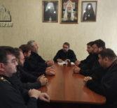 Архипастырь провел рабочее совещание с отцами благочинными и руководителями епархиальных отделов