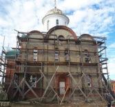 В Больших Березниках продолжается строительство храма в честь Живоначальной Троицы