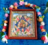 В день памяти иконы Божией Матери, именуемой«Неопалимая Купина», в Урусовском женском скиту прошло престольное торжество