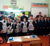 Архипастырь посетил открытый урок ОПК в Чамзинской СОШ №2