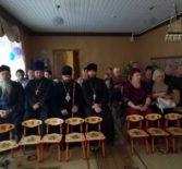 Архипастырь посетил утренник, посвященный празднику Покрова Божьей Матери в детском саду «Сказка» п.Комсомольский Чамзинского района