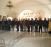 Благословение призывников Ардатовского муниципального района в Никольском кафедральном соборе г.Ардатова
