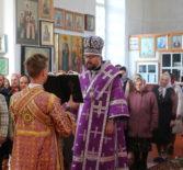 Архипастырский визит в Казанский приход с.Киржеманы 1-го церковного округа Атяшевского благочиния