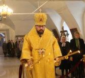 Неделя 21-я по Пятидесятнице, памятьсвятых отцов VII Вселенского Собора в Никольском кафедральном соборе г.Ардатова