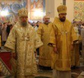Всенощное Бдение в храме Казанской иконы Божией Матери на Светотехстрое г.Саранска