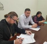 Архипастырь провел рабочую встречу с Министром здравохранения Республики Мордовия М.Ю.Морозовым