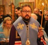В Троицком соборе Свято-Троицкого Серафимо-Дивеевского женского монастыря был совершен молебен с акафистом преподобному Серафиму Саровскому