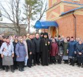 Архипастырь совершил Божественную литургию в Казанском храме с.Чиндяново Дубенского благочиния