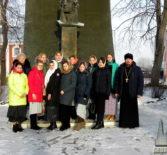 Участники Молодежного Православного Движения «Милосердие» побывали с паломнической поездкой в Санаксарском монастыре