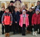 ЭкскурсиЯ для учащихся 4 класса Ардатовского интерната с нарушением зрения в Никольский кафедральный собор г.Ардатова