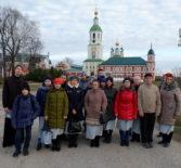 Кадеты Ардатовской основной средней школы посетили Рождество-Богородичный Санаксарский монастырь