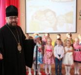 Архипастырь посетил Чамзинский детский сад «Ягодка»