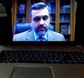 Председатель Синодального отдела по взаимоотношениям Церкви с обществом и СМИ В.Р.Легойда провел онлайн-совещание с руководителями и сотрудниками епархиальных информационных отделов