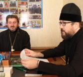 Архипастырь провел рабочее совещание в епархиальном управлении Ардатовской епархии