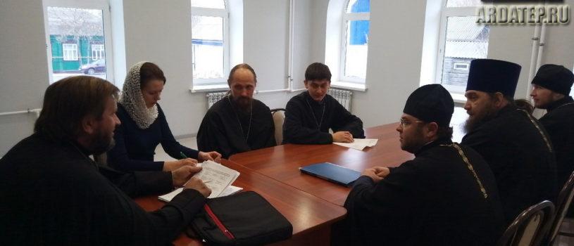В епархиальном управлении состоялось собрание Молодежного отдела Ардатовской Епархии