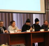 В Атяшевском ДК прошла конференция для преподавателей ОПК, организованное по инициативе Ардатовской епархии при содействии Синодального отдела религиозного образования Русской Православной Церкви