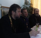Отчетное годовое собрание духовенства первого церковного округа Атяшевского благочиния