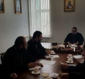 В епархиальном управлении Правящий Архиерей Ардатовской епархии провел рабочее совещание