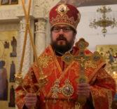 Архипастырь совершил Божественную литургию в Никольском кафедральном соборе г.Ардатова в день памяти великомученницы Екатерины