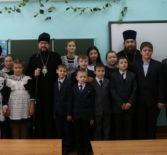 Архипастырь посетил открытый урок ОПК для учащихся 4-го и 5-го классов Большеберезниковской СОШ №2