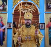 Архипастырь совершил Божественную литургию в храме Покрова Пресвятой Богородицы с.Покровское 1-го церковного округа Атяшевского благочиния