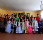 В воскресной школе храма Благовещения Пресвятой Богородицы п.Комсомольский прошла Рождественская ёлка