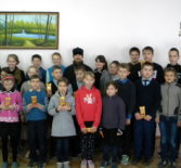 Настоятель Казанской церкви с.Кученяево Ардатовского благочиния посетил Кученяевскую и Куракинскую общеобразовательные школы
