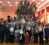 Рождественская ёлка в Больших Березниках