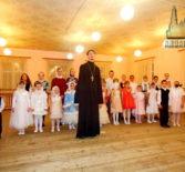 Воспитанники воскресной школы Никольского Кафедрального собора выступили с рождественскими номерами в Ардатовской школе искусств