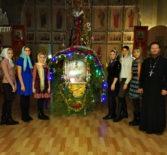 Учащиеся воскресной школы при Троицком приходе с.Сабанчеево приняли активное участие в праздничном богослужении