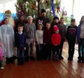 Рождественские утренники в с.Кабаево и в с.Чиндянов Дубенского района