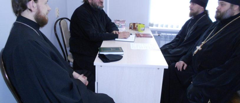 В епархиальном отделе по делам молодежи Ардатовской епархии прошло рабочее совещание