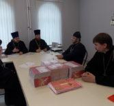 В епархиальном управлении Ардатовской епархии состоялось первое рабочее совещание межъепархиальной миссионерской коллегии Саранской и Ардатовской епархий