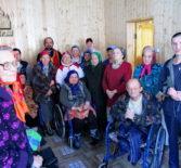Поздравление жителей Большеберезниковского дом-интерната для престарелых и ветеранов