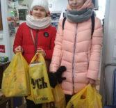 В святочные дни Молодежное Православное Движение «Милосердие» провело акцию «Дарим детям витамины»
